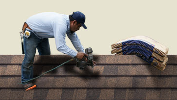 shingle installation